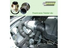 Juego de retrovisores deportivo y adaptador manual sin calefaccion cromado Subaru Impreza 93-10/00