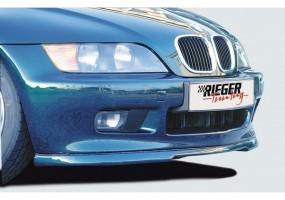 Splitter trasero Rieger BMW...