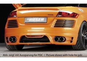 Spoiler trasero Rieger Audi...