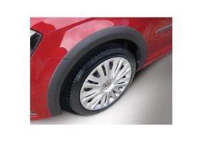 Juego de faldones laterales Volkswagen Caddy 2015- - linker schuifdeur - negro