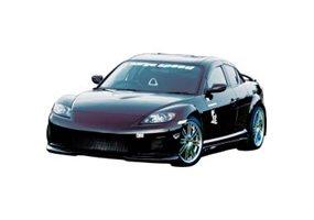 Juego de faldones laterales Mazda RX-8 SE3P (FRP)