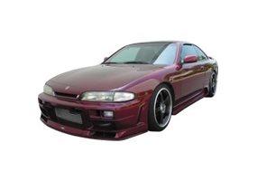 Juego de faldones laterales Nissan 200/240SX/S14 1995-1999 'JP-Style' (PU)