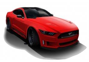 Kit Carroceria Ford Mustang Mk6 Evolva