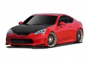Kit Carroceria Hyundai Genesis Coupe Gts
