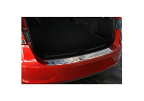 Protector Paragolpes Acero Inoxidable Seat Leon 5f St 2013- 'ribs'