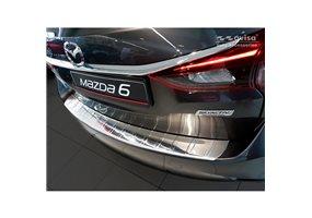 Protector Paragolpes Acero Inoxidable Mazda 6 Iii Gj Combi 2012- 'ribs' (lange Versie)