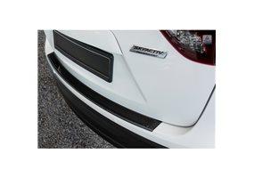 Protector Paragolpes Acero Inoxidable Mazda Cx5 2012-2017 Negro/look Carbono Negro