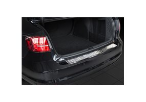 Protector Paragolpes Acero Inoxidable Volkswagen Jetta Restyling 2014- 'ribs'