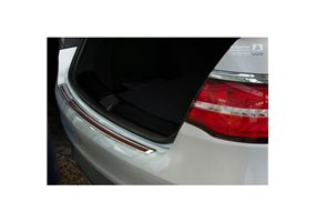 Protector Paragolpes Acero Inoxidable Mercedes Gle Coupé 2015- Cromado/look Carbono Rojo-negro