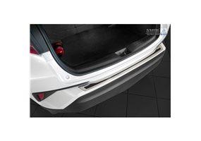 Protector Paragolpes Acero Inoxidable Toyota C-hr 2016- Cromado/look Carbono Negro