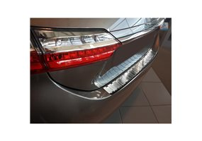 Protector Paragolpes Acero Inoxidable Toyota Corolla Xi E16 Restyling 2016- 'ribs'