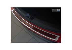 Protector Paragolpes Acero Inoxidable Mazda Cx-5 2014- Cromado/look Carbono Rojo-negro