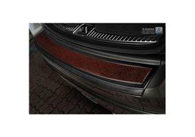 Protector Paragolpes Acero Inoxidable Volvo Xc60 2013-2016 Negro/look Carbono Rojo-negro