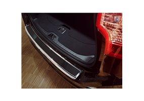 Protector Paragolpes Acero Inoxidable Volvo Xc60 2013-2016 Cromado/look Carbono Negro