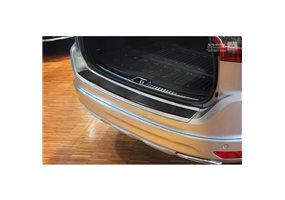 Protector Paragolpes Acero Inoxidable Volvo Xc60 2013-2016 Look Carbono Negro