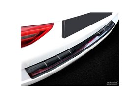 Protector Paragolpes Acero Inoxidable Bmw 5-serie G31 Touring 2017- 'performance' Negro/look Carbono Rojo-negro