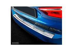 Protector Paragolpes Acero Inoxidable Bmw X1 F48 2015- 'performance' Plata/plata Carbon