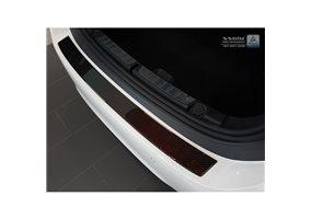 Protector Paragolpes Acero Inoxidable Bmw 4-serie F36 Gran Coupe 2014- Look Carbono Rojo-negro
