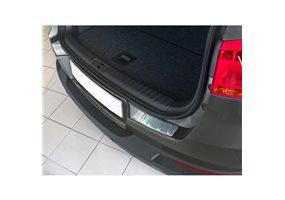 Protector Paragolpes Acero Inoxidable Volkswagen Tiguan 2007- 'ribs' (2-delig)