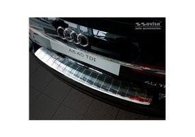 Protector Paragolpes Acero Inoxidable Audi A6 (c8) Avant 2018- 'ribs'