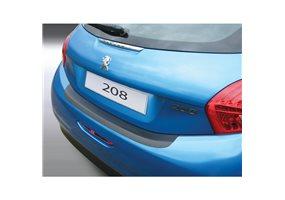 Protector Paragolpes Plastico Peugeot 208 3/5 Dr 4.2012 Negro