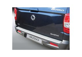 Protector Paragolpes Plastico Ssangyong Musso 2018 Negro