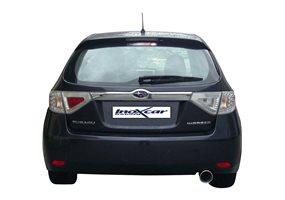 Escape Inoxcar para Subaru Impreza 2.0 (150pk) 10/2007- 102mm