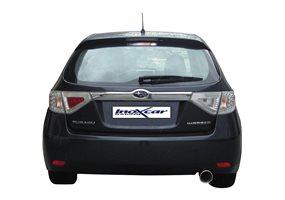 Escape Inoxcar para Subaru Impreza 2.5 WRX (224pk) 10/2007- 102mm