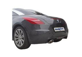 Escape Inoxcar para Peugeot RCZ 1.6THP (200pk) 2010- 150x105mm Oblique