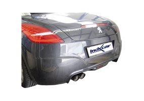 Escape Inoxcar para Peugeot RCZ 1.6THP (200pk) 2010- 2x80mm Racing