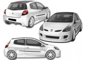 Escape deportivo inoxidable VW New Beetle 2.0 (115pk) 98- 102mm
