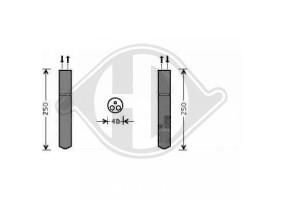 Secador Citroen C5, 04-08,...
