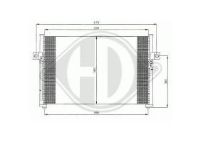 Condensador H100,h150,97-02...