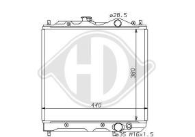Ventilador Inferior Izq. De La Rejilla Audi 80, 91-94, Tipo B4