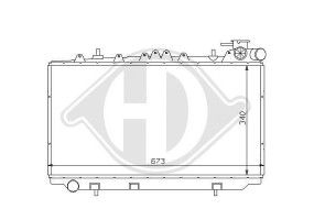 Rejilla Izq. Paragolpes Audi A4, 99-01